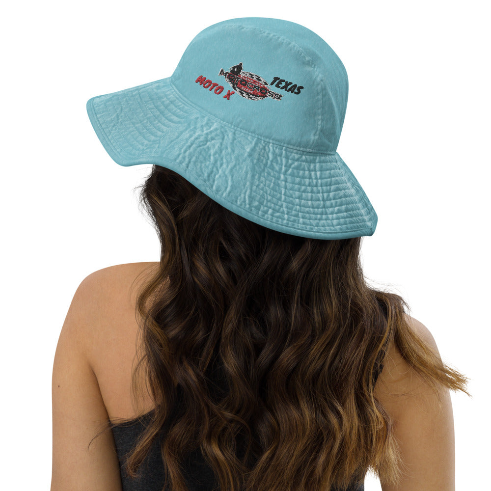 Austin Area Motocross Scene TEXAS MOTOX Wide brim bucket hat