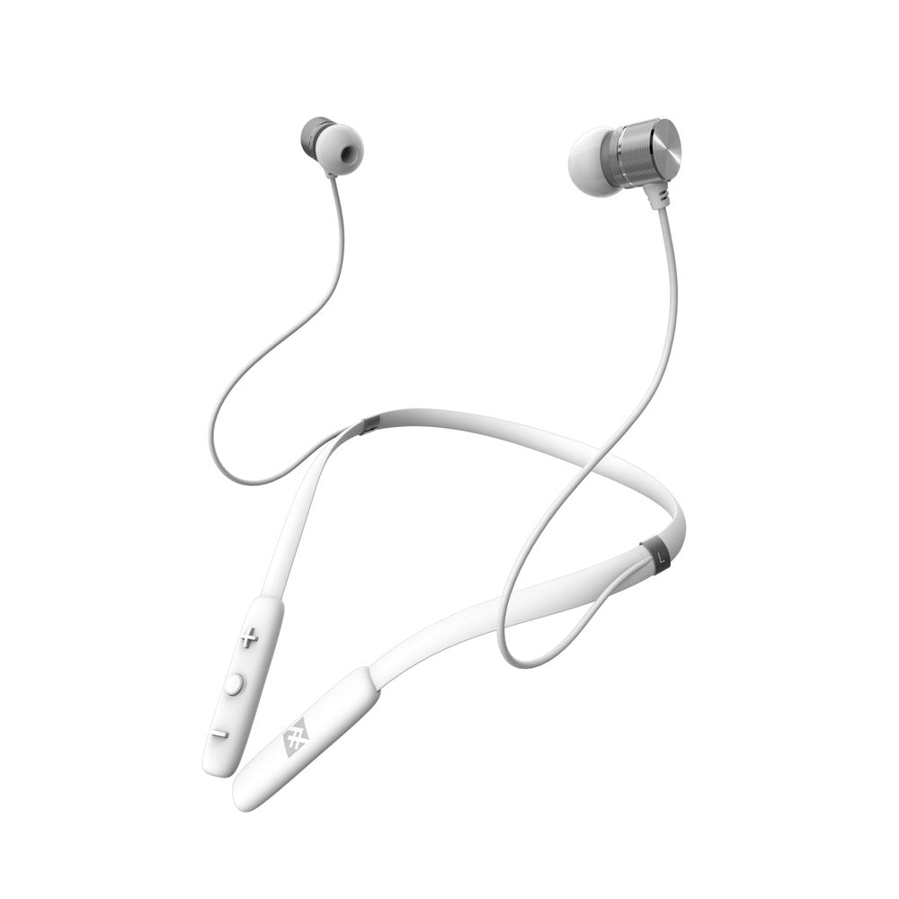 iFrogz - Flex Force In Ear Bluetooth Headphones - White