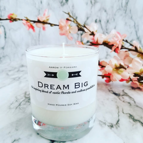 dream big soy candle