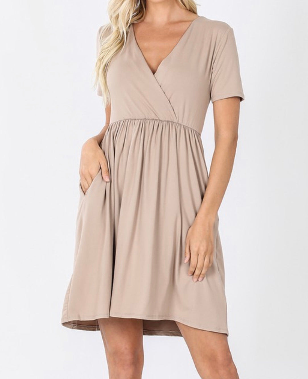 Brushed Mocha Dress