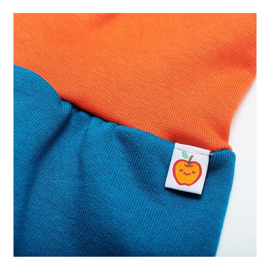 Hose Cheeky Apple - Pumphose Sweat Petrol/Orange - bio und fair