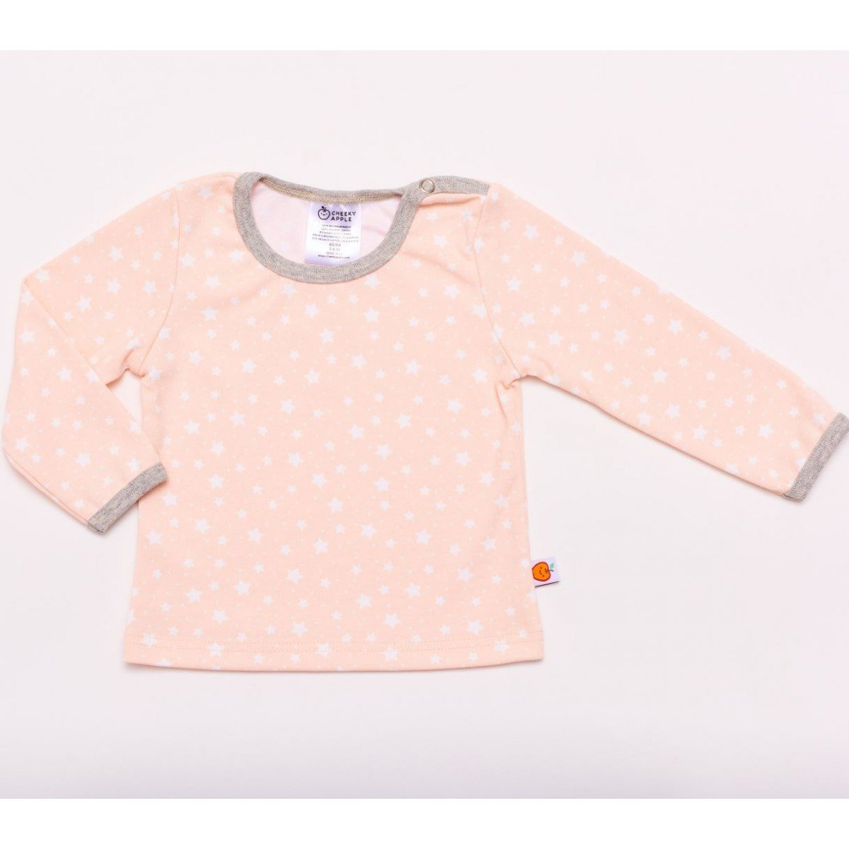 Cheeky Apple - Langarm Shirt Starry sky peach blush