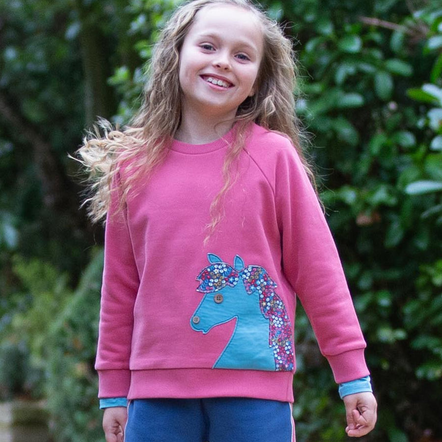 Shirt Kite - Sweatshirt Pony - bio und fair