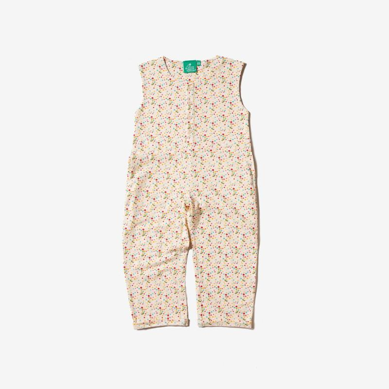 Little green radicals - Sommer Jumpsuit Flowers