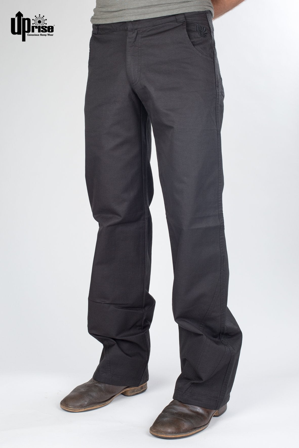 Hose UpRise - Men's Pants Black - bio und fair