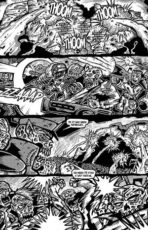 Zombie Commandos From Hell! Book 8: The Final Conflict Part One - Digital Download