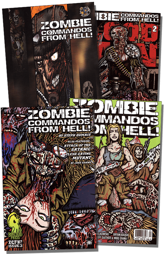 Zombie Commandos From Hell! The Beginning - Digital Download