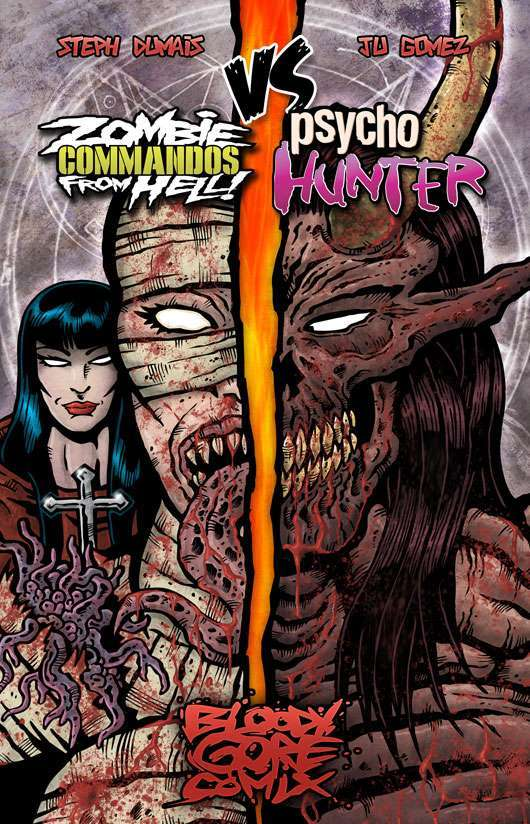 Zombie Commandos From Hell! VS Psychohunter