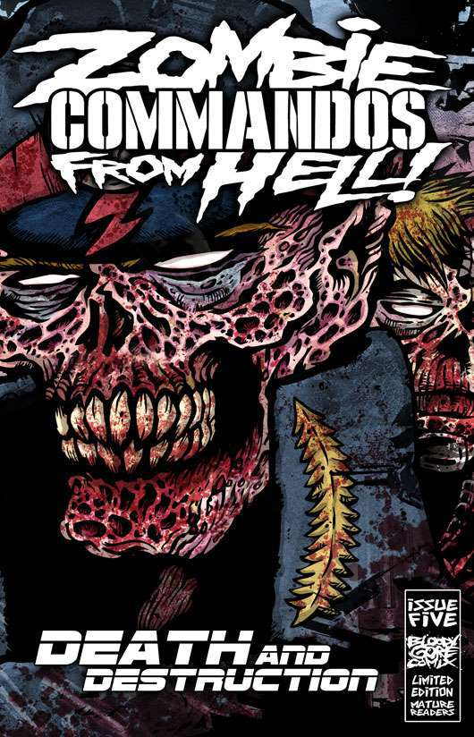 Zombie Commandos From Hell! Book 5 : Death & Destruction - Digital Download