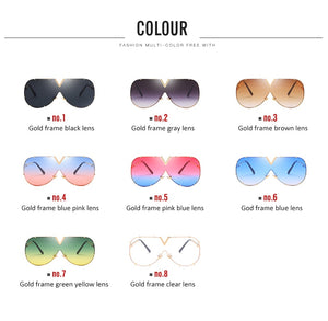 One Piece Sunglasses For Women