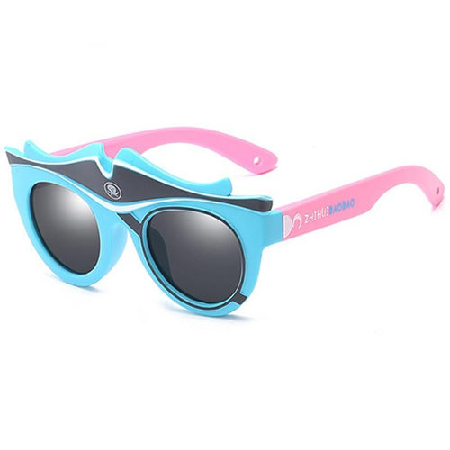 Fashion Kids Silicone Frame Sunglasses