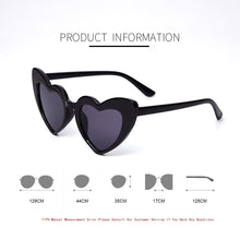 Load image into Gallery viewer, Heart Baby Fashion Sunglasses