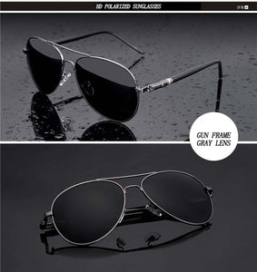 Leg Alloy Men Sunglasses