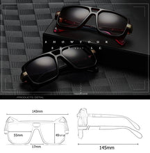 Load image into Gallery viewer, Long Keeper Square Sunglasses For Men