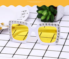 Load image into Gallery viewer, Rhinestone Kids Sunglasses