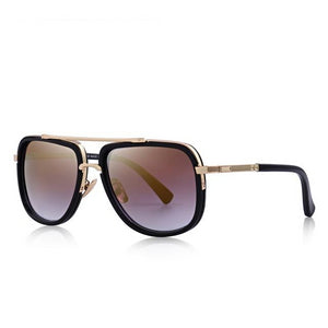 Metal Square Sunglasses For Men
