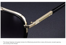Load image into Gallery viewer, Metal Square Sunglasses For Men