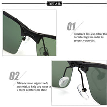 Load image into Gallery viewer, Anti UV Fishing Metal Frame Sunglasses