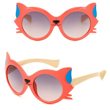 Load image into Gallery viewer, Cartoon Fox Sunglasses