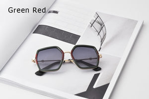 Multi-Color Gradient Lens Sunglasses