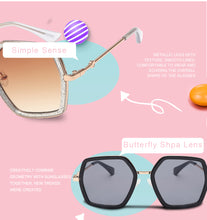 Load image into Gallery viewer, Multi-Color Gradient Lens Sunglasses