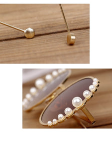 Pearls Fashion Baby Sunglasses