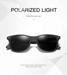 Men Retro Square Cycling Eyewear