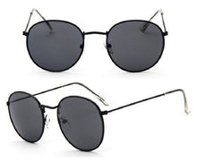 Load image into Gallery viewer, Women Retro Round Sunglasses