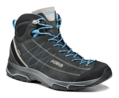 Nucleon Mid Gv Women's GRAPHITE/CYAN BLUE