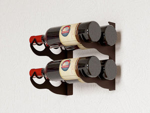 DOUBLE - 4 BOTTLE RACK