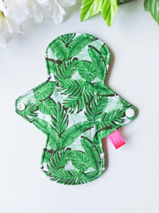 "8"" Heavy Green Palm Leaves Pad"