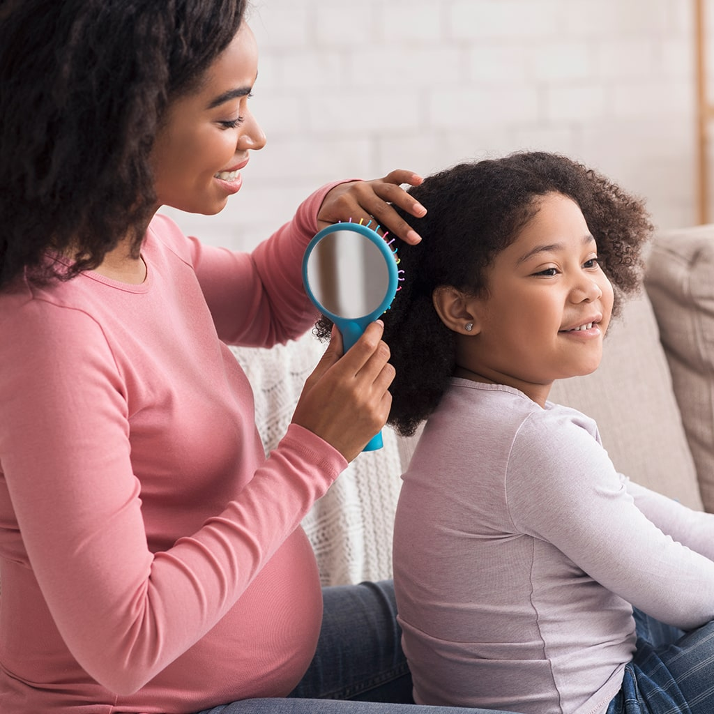 Teaching Your Child Healthy Hair Care Habits