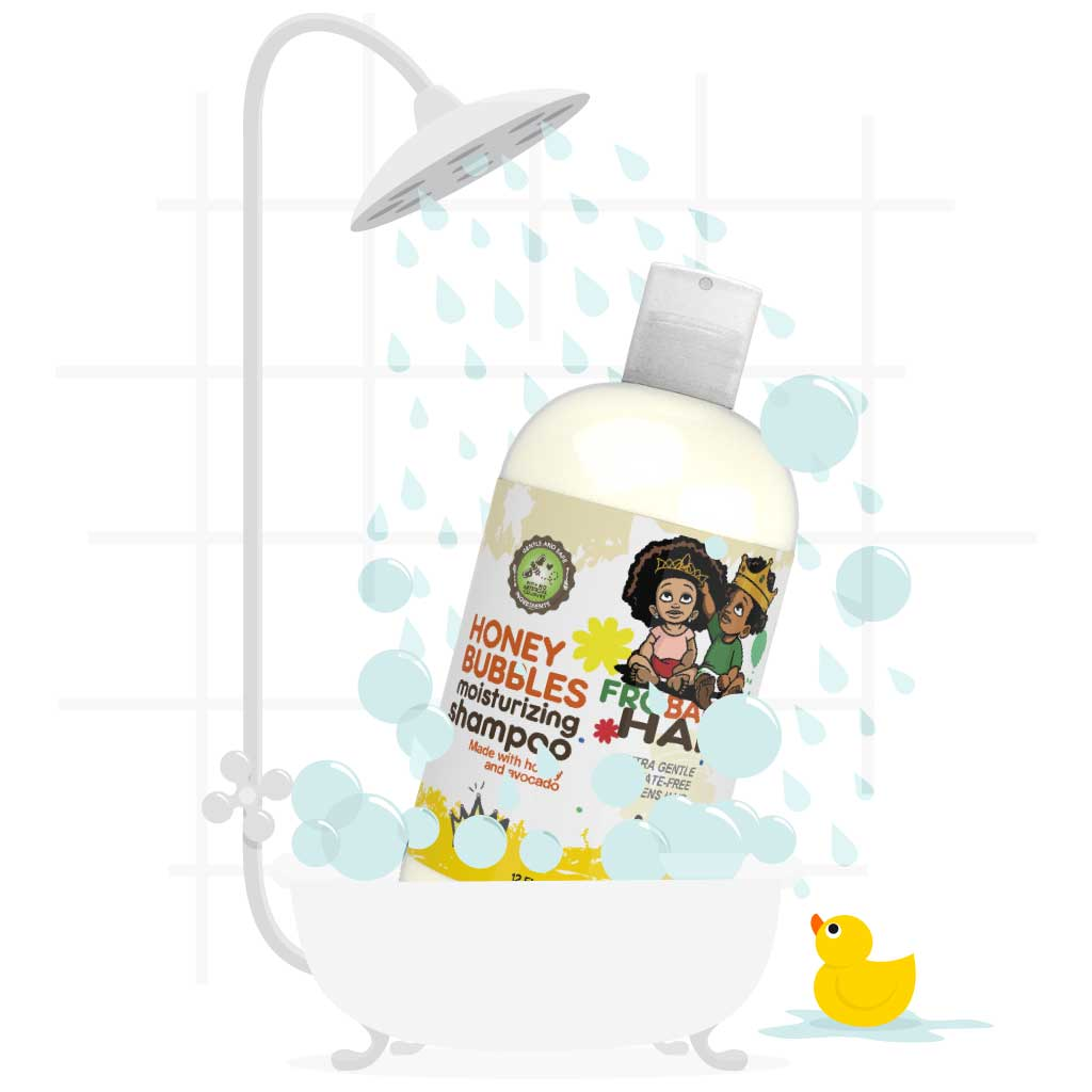 Shower with Bubbles and Frobabies Hair