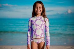 Long Sleeve Rash Guard Set | SALE