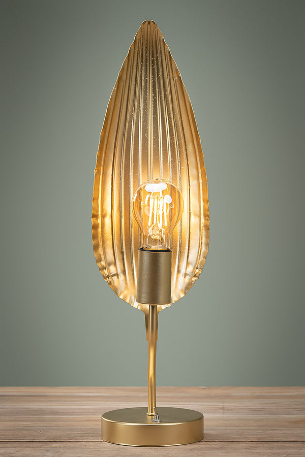 "Lampe ""Golden Leaf"""