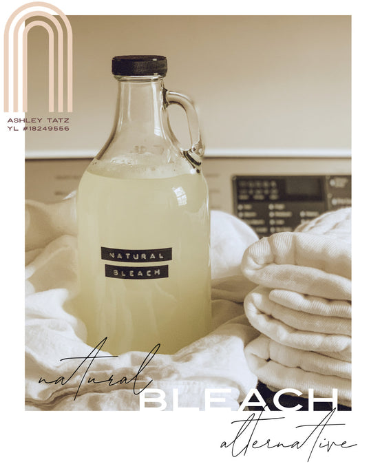 Natural Bleach Alternative for Laundry