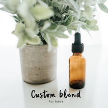 Load image into Gallery viewer, CUSTOM essential oil blend roller bottle for BABY