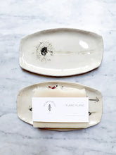 Load image into Gallery viewer, White Ceramic Soap Dish