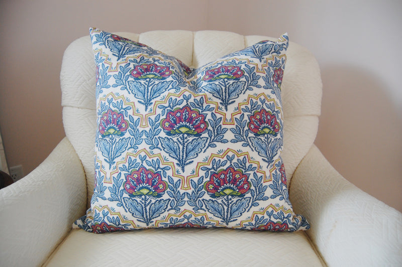 West Indies Blue Fabric