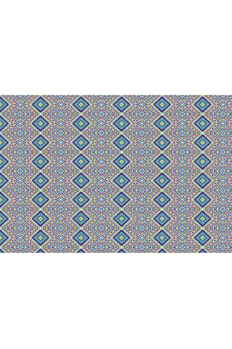 Diamond Bay Peacock Fabric