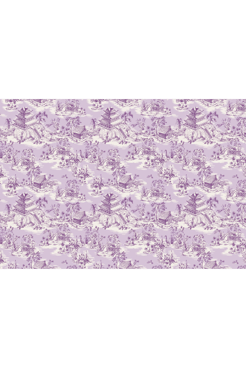 Hope Gardens Fabric, Color Lavender