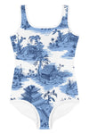Kids Blue Pagoda Swimsuit