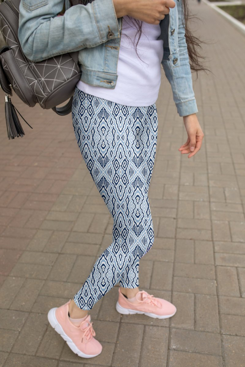 Carolina Blue UPF 40 Leggings