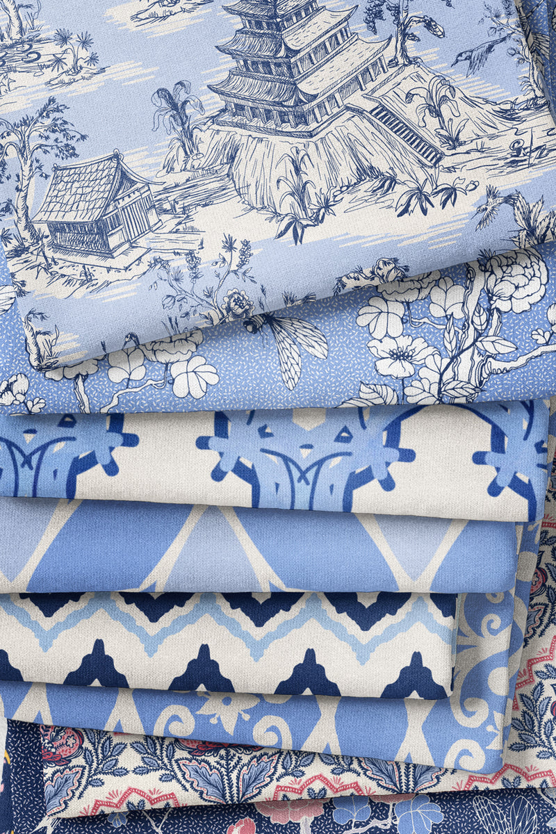 Jubilee Fabric, Color Blue