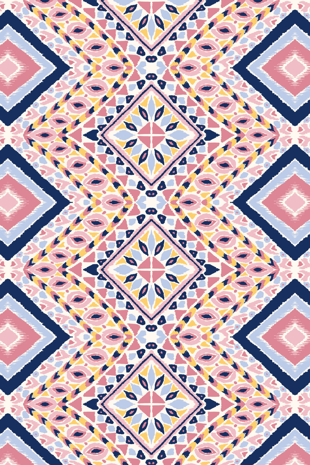 Diamond Bay Pink Fabric