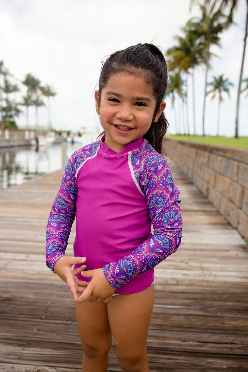 Kids West Indies Rash Guard
