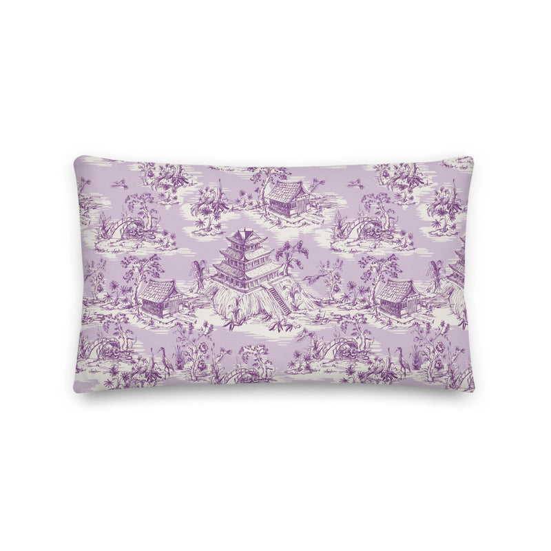 Hope Gardens, Color Lavender Pillow