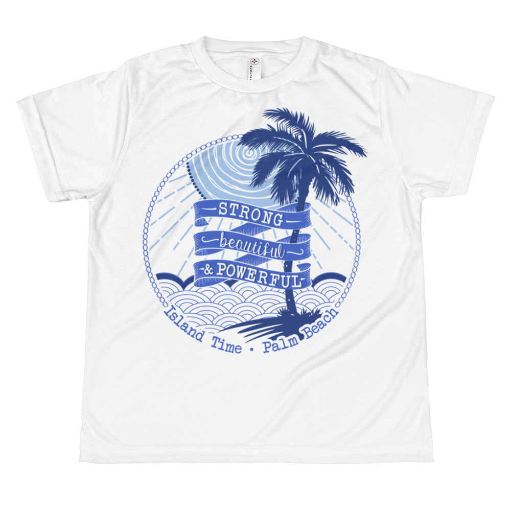 Juniors T-shirt- Blues