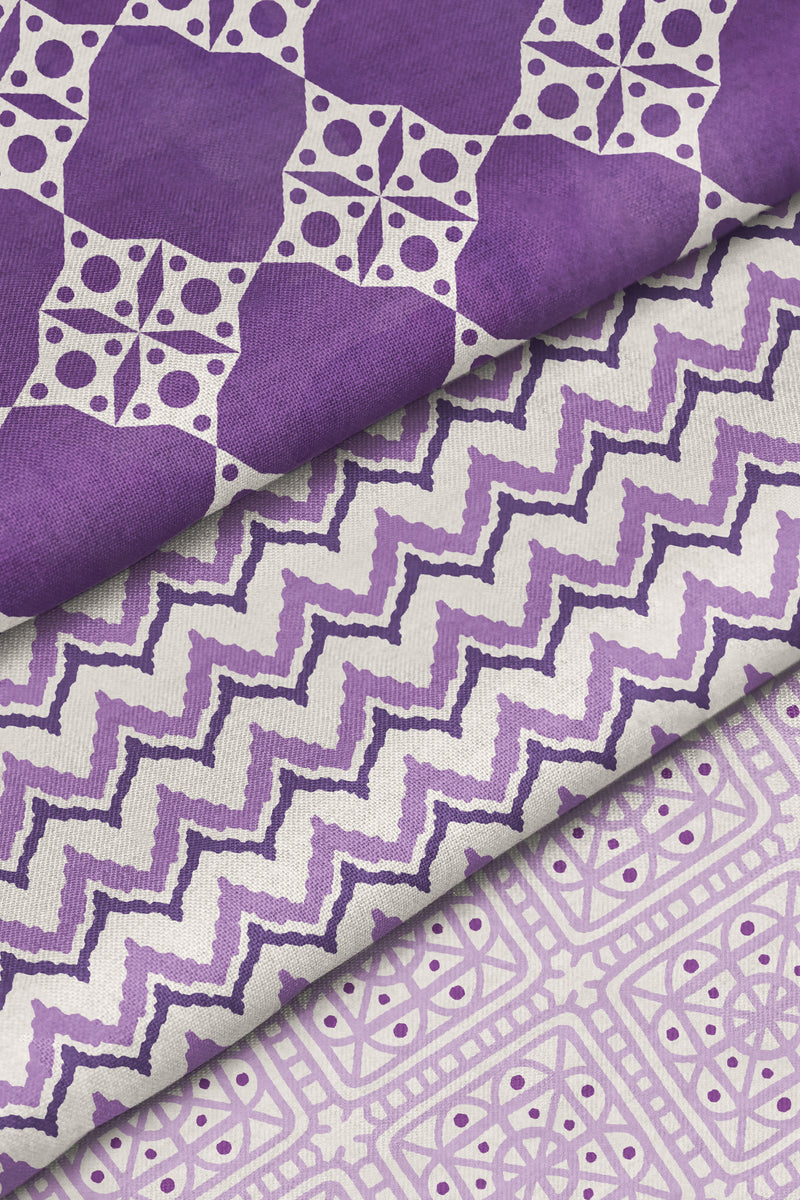 Cornwall Fabric, Color Plum