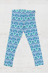 Juniors UPF 40 Seaforth Blue Leggings